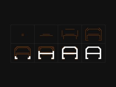 AIUX Logo Animation Storyboard