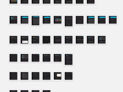 MyMonero sketch list interface ui sidebar desktop app mac