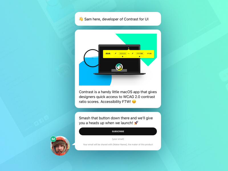 Product hunt upcoming sketch template