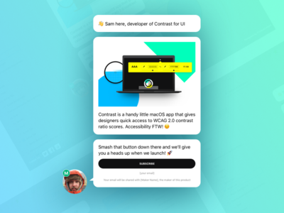 "Product Hunt ""Upcoming"" Sketch Template"