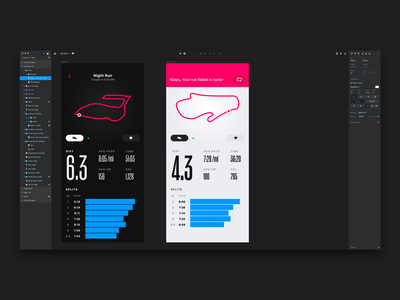 Oops ui mobile iphone x iphone ios invision studio invision interface action condensed