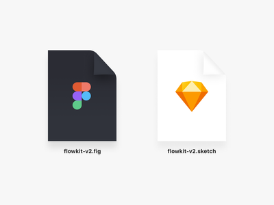 Figma & Sketch Document Icons freebie illustration document icons