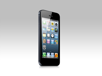 iPhone 5 PSD vector freebie iphone 5