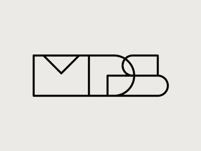 geometric letterforms