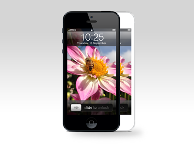 iPhone 5 Front View PSD Download iphone 5 freebie psd render photoshop download