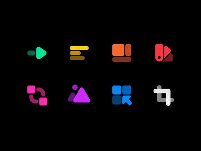 Figma Animation iconography icon design icons animation figma