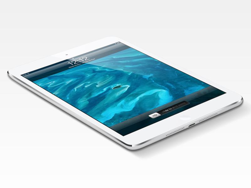 iPad Mini Psd ipad mini ipad freebie psd download vector render photoshop shape layers ios apple 121212