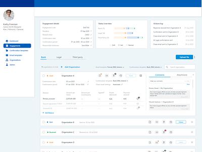 Project Management Tool project management tool web app app website design web prototype minimal app design