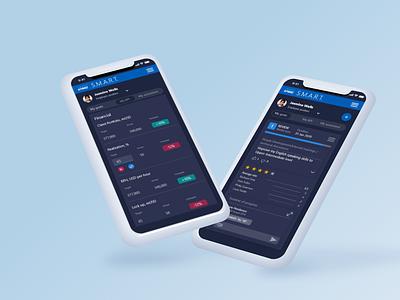 [Mobile App] UI/UX Design for Performance Management tool figma ios mockup mobile design minimal prototype ux ui mobile app design app design