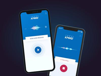 [Mobile App] UI/UX Design for Online Communication Channel minimal figma app design ux ui prototype ios user research mobile app design wireframes