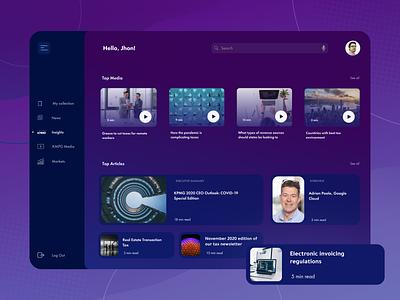 [SaaS - Finance] UI/UX design for Tax Insider tool mind map workflow purple design minimal user research figma ui ux prototype