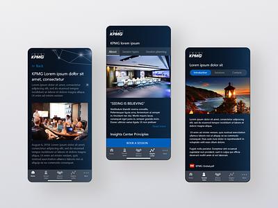 [Mobile App] UI/UX Design for internal workspace booking service figma user research mobile app design app design ux ui prototype