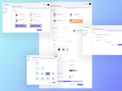 [SaaS/Dashboard] UI/UX Re-design for social-proof service web app user research logo illustration design website minimal figma app design ux ui prototype