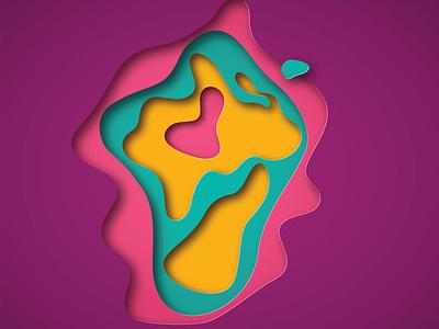 ColorS illustrator graphic design art vector minimal illustration design
