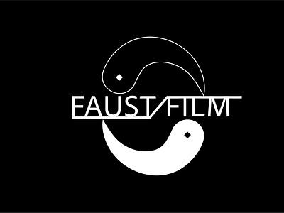 Faust Film Logo branding logo illustrator graphic design art vector minimal illustration design