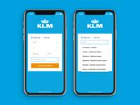 KLM App Redesign