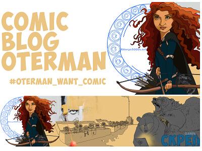 oterman want comic design отерман комикс print icon comic art illustrator oterman comicblog comic