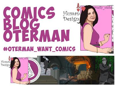 #oterman_want_comics branding comics blog art human design comicsart graphic design print illustration icon design illustrator comics oterman