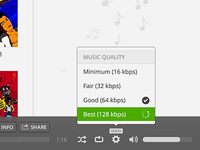 Music Quality (Web)