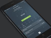 Concept for a time management App