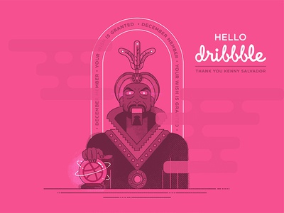 Zoltar – Hello Dribbble