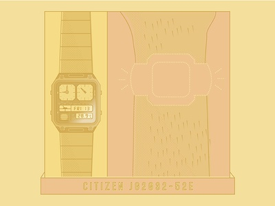 Movement Monday – Citizen JG2032-52E