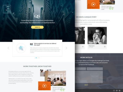 TheNetworkGeneration Landing Page
