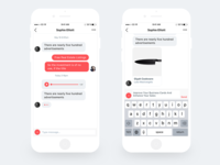 Daily UI 013 Direct Messaging