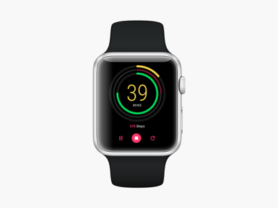 Daily UI 014 Count Down Timer apple watch count down timer ux ui daily ui