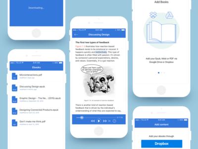 Speak Sync ux ui mobile app