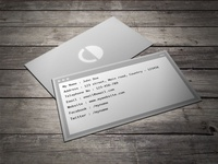 Free Command Coder Business Card