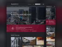 Professional website design for a Law firm
