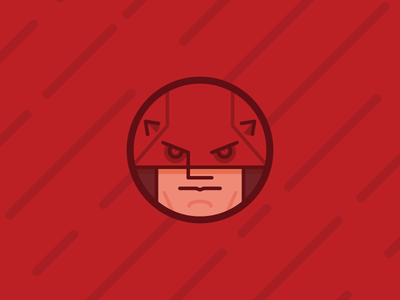 The Devil of Hell's Kitchen tapekingkong red daredevil netflix marvel show tv vector illustration