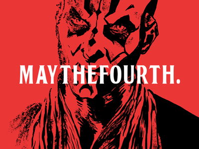 May the 4th - Darth Maul maythefourth maythe4th starwarsday maul darth starwars