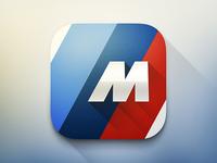 BMW M Power iOS icon