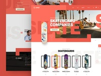 2.H.E.X. webdesign clean photoshop web responsive ux website ui design drawingart