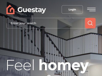 Rental Real Estate Mobile realestate estate home vacations rental rent webdesign clean web responsive ux website ui design drawingart