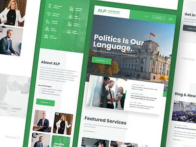 ALP Advanced Level Politics Mobile transparency advanced politics hamburg germany web responsive ux website ui design drawingart