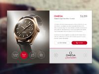 Omegawatch widget