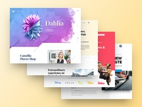 2017 Web Design on Behance