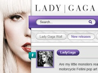 Lady Gaga Social