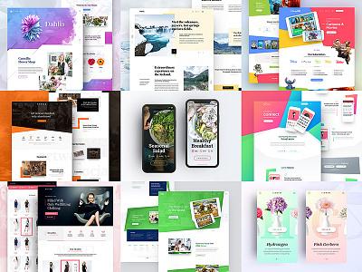 2017 Best Shots uxdesign uidesing design ux ui application website web app drawingart shot 2017