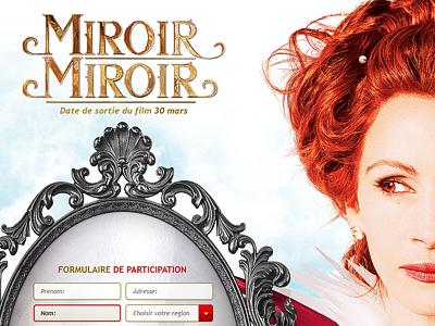 Miroir miroir mirror mirror by miro koljanin dribbble for Miroir miroir full movie