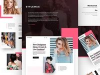 StyleMag Behance