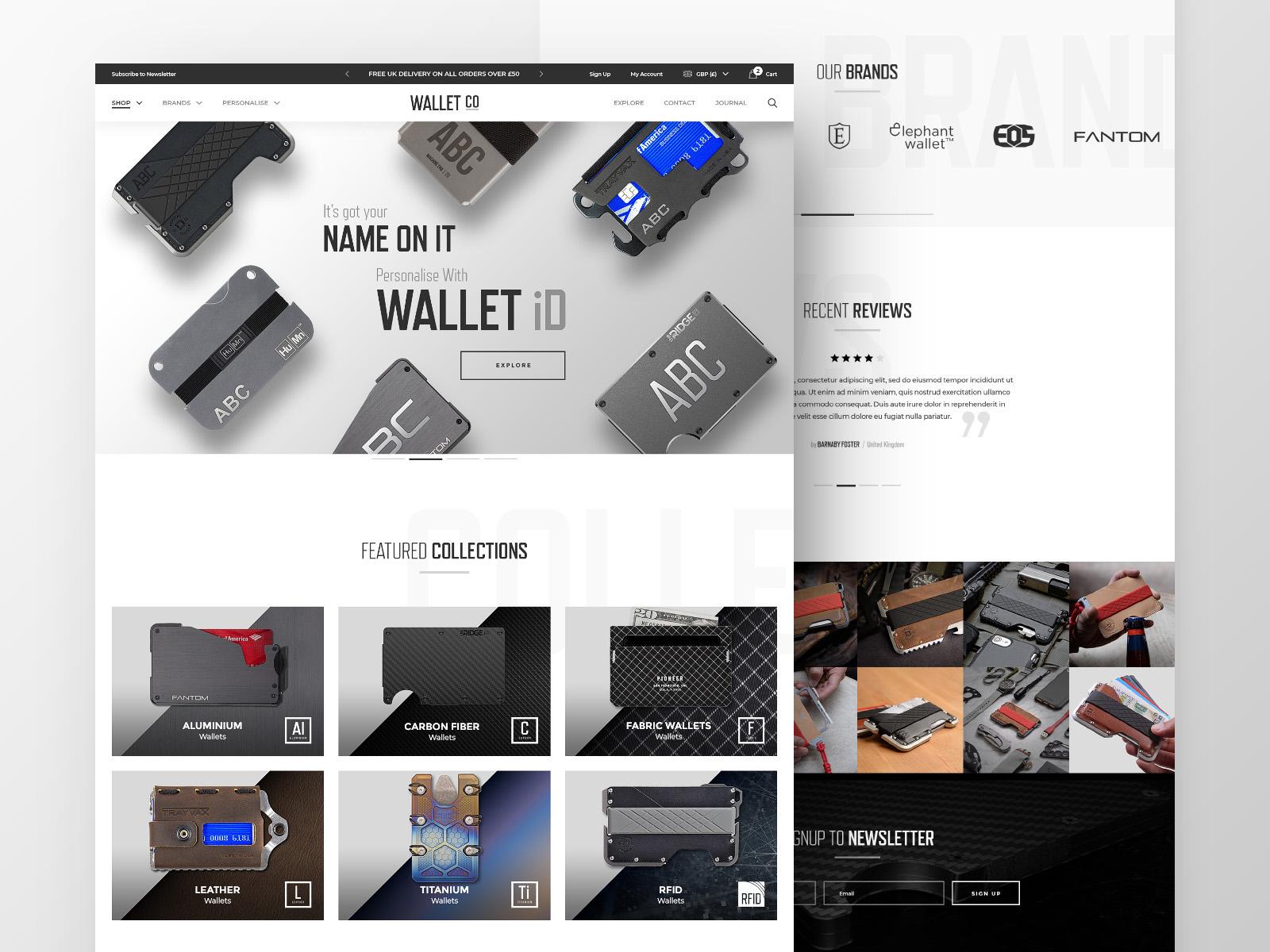 Wallet dribbble 1200