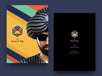 The Sultan - postcard