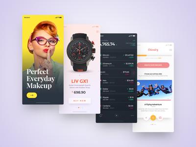 2018 Application Design on Behance