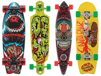 Various Santa Cruz Boards