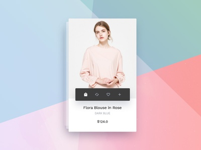 Mini Store - hover product