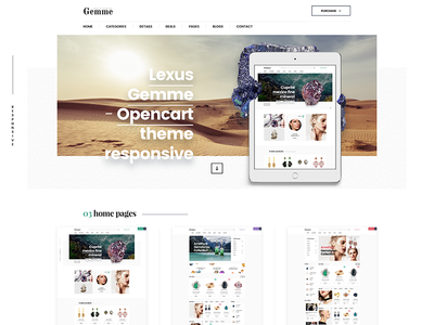 Gemme theme - coming soon ...
